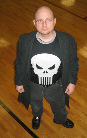 Howard in the Pure Hero Punisher Crew