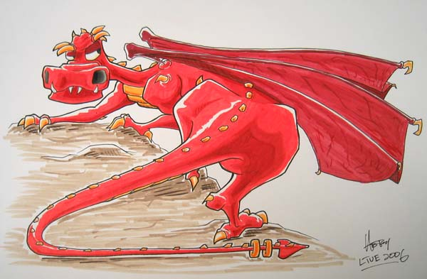 Dragon for Charlene