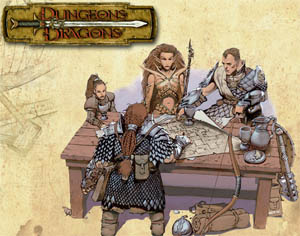Dungeons & Dragons Image (c) 2003 Wizards of the Coast, cropped without permission.