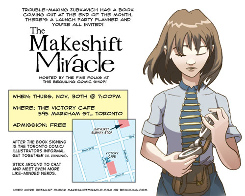Makeshift Miracle Launch Party