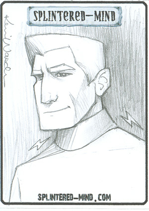 Kevin Wasden's sketch of Captain Tagon