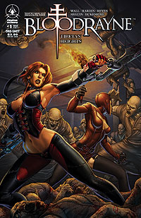 Bloodrayne #1 Cover by Chad Hardin