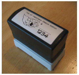 The 1234 Tub of Happiness Stamp