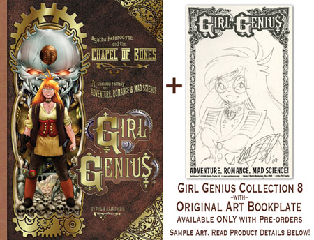 Girl Genius Volume 8 Limited Bookplate edition