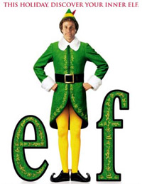 Will Ferrell is an Elf. Maybe you can find a better word?