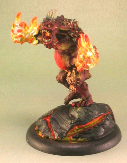 Tumsy the Pyre Troll