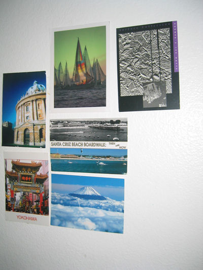 Wall of Postcards, Batch One