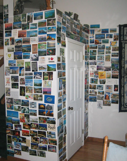 Howard's 40th Birthday Postcard Wall, March 11th, 2-of-2