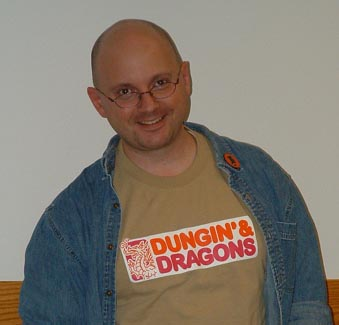 My donuts and dice shirt