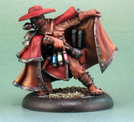 Gorman di Wulfe, from Privateer Press -- painted by Howard Tayler