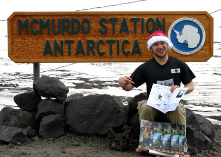 Rob at McMurdo Station