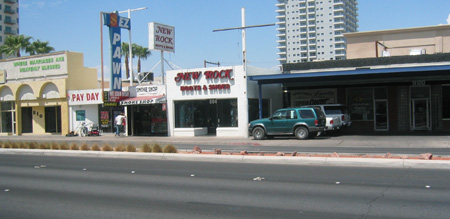 New Rock Boots storefront in Las Vegas, Nevada