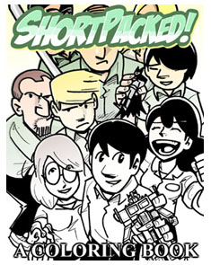 Shortpacked! A Coloring Book