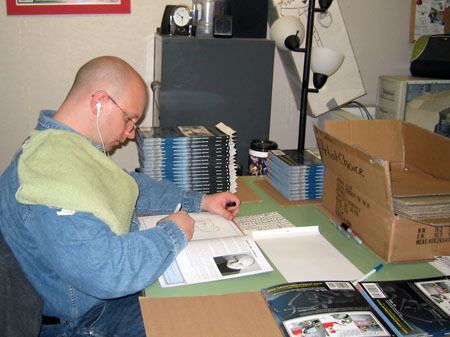 Howard Sketches in Books - Nov 2007