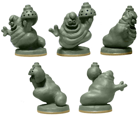 Schlock Miniature sculpted by Melissa Smith, unpainted