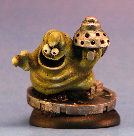 Schlock Miniature sculpted by Melissa Smith, painted by Drew Olds
