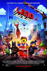 THE LEGO MOVIE (on DVD)…  the surprise twist makes the movie
